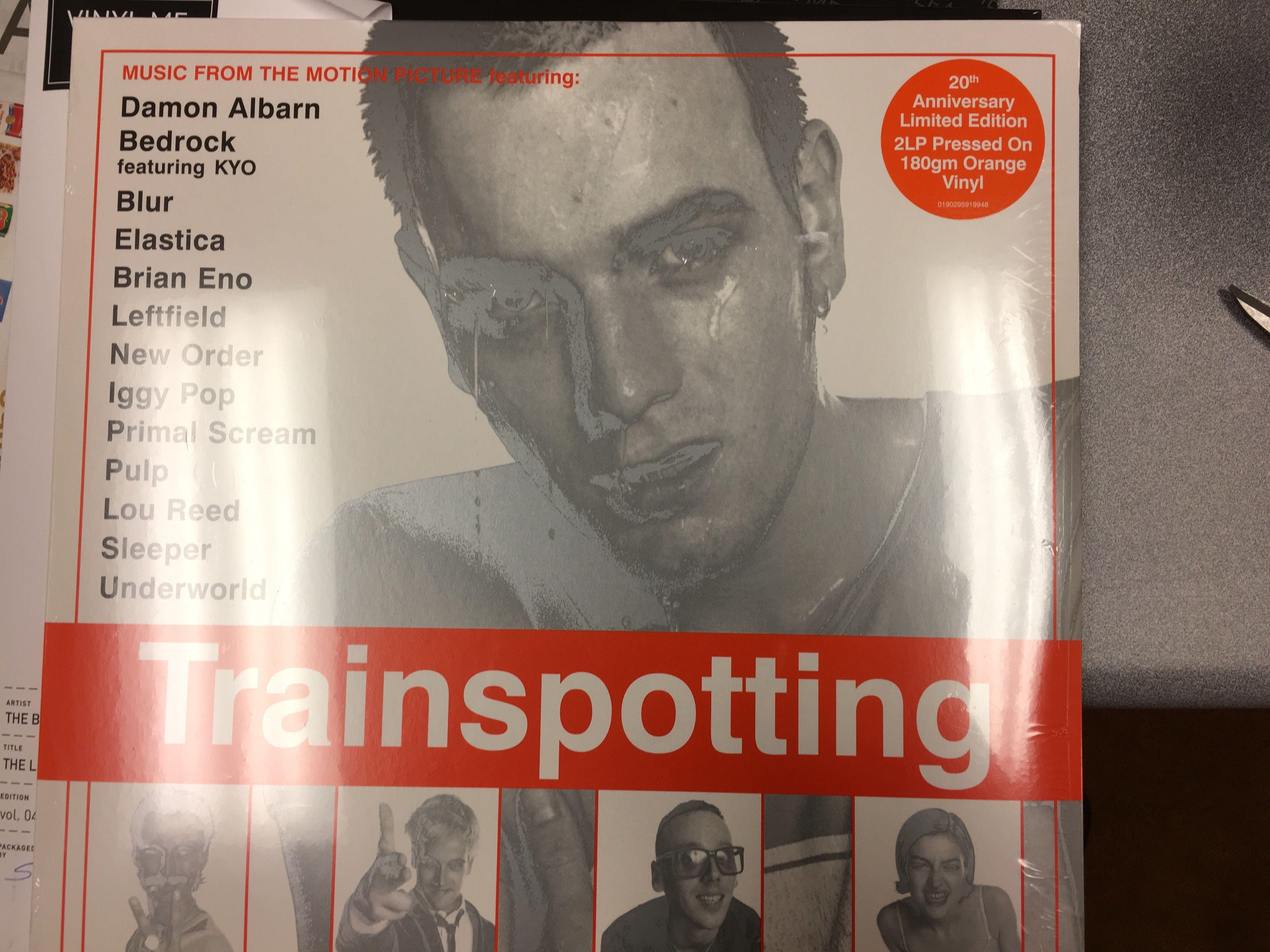 Trainspotting Soundtrack (orange vinyl)