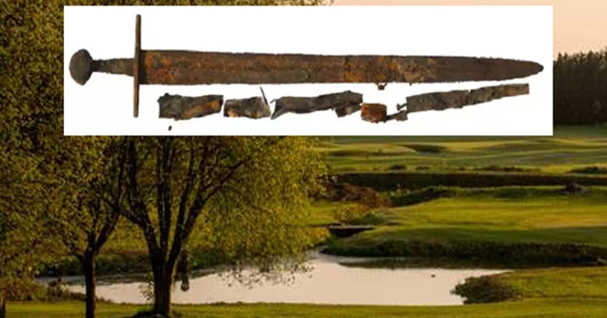 12th Century Inscribed #Sword Found on English Golf Course is Remnant of a Deadly Battle