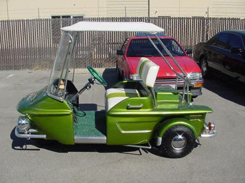 Turf Rider Custom Golf Cart