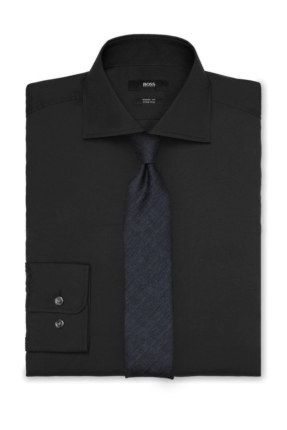 The Best Neckties To Pair With A Black Dress Shirt Black Shirt Dress Shirts Shirt Dress [ 1500 x 1000 Pixel ]