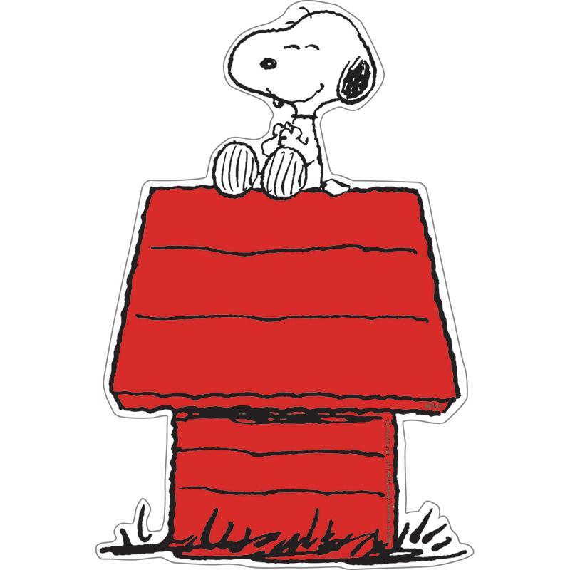 6 Pk Snoopy On Dog House Accents Snoopy Dog House Cartoon