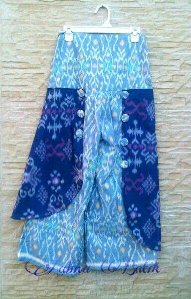 Bateeque  Skirt  Motif Batik Kalimantan Batik Kalimantan Motif