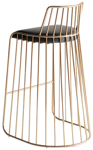 Bride S Veil Counter Stool With Back By Phase Counter