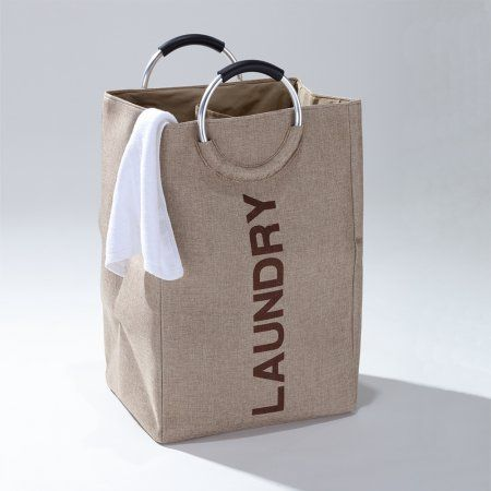 Fragrantt Laundry Bag Hamper with Round Handles For Easy Sorting and Carrying