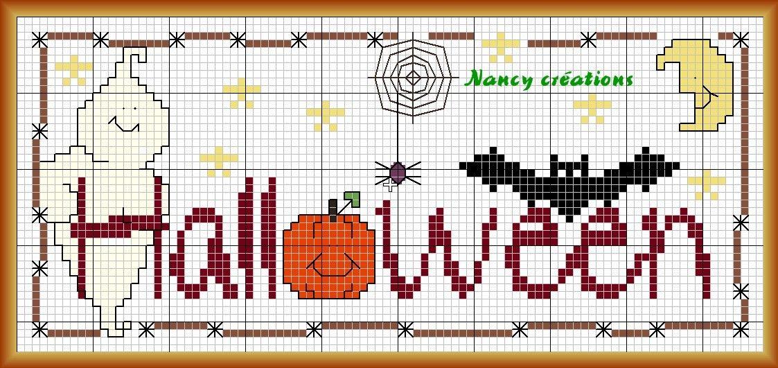 Halloween 2 de Nancy créations | gráficos | Pinterest | Halloween ...