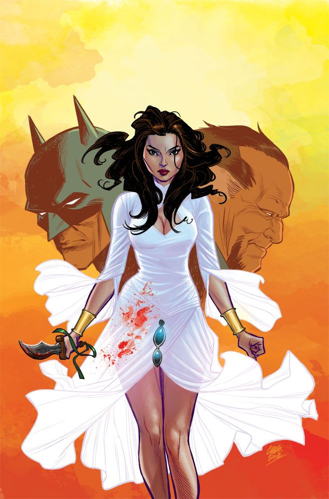 Batman, Talia al Ghul and Ra's Al Ghul by Cameron Stewart