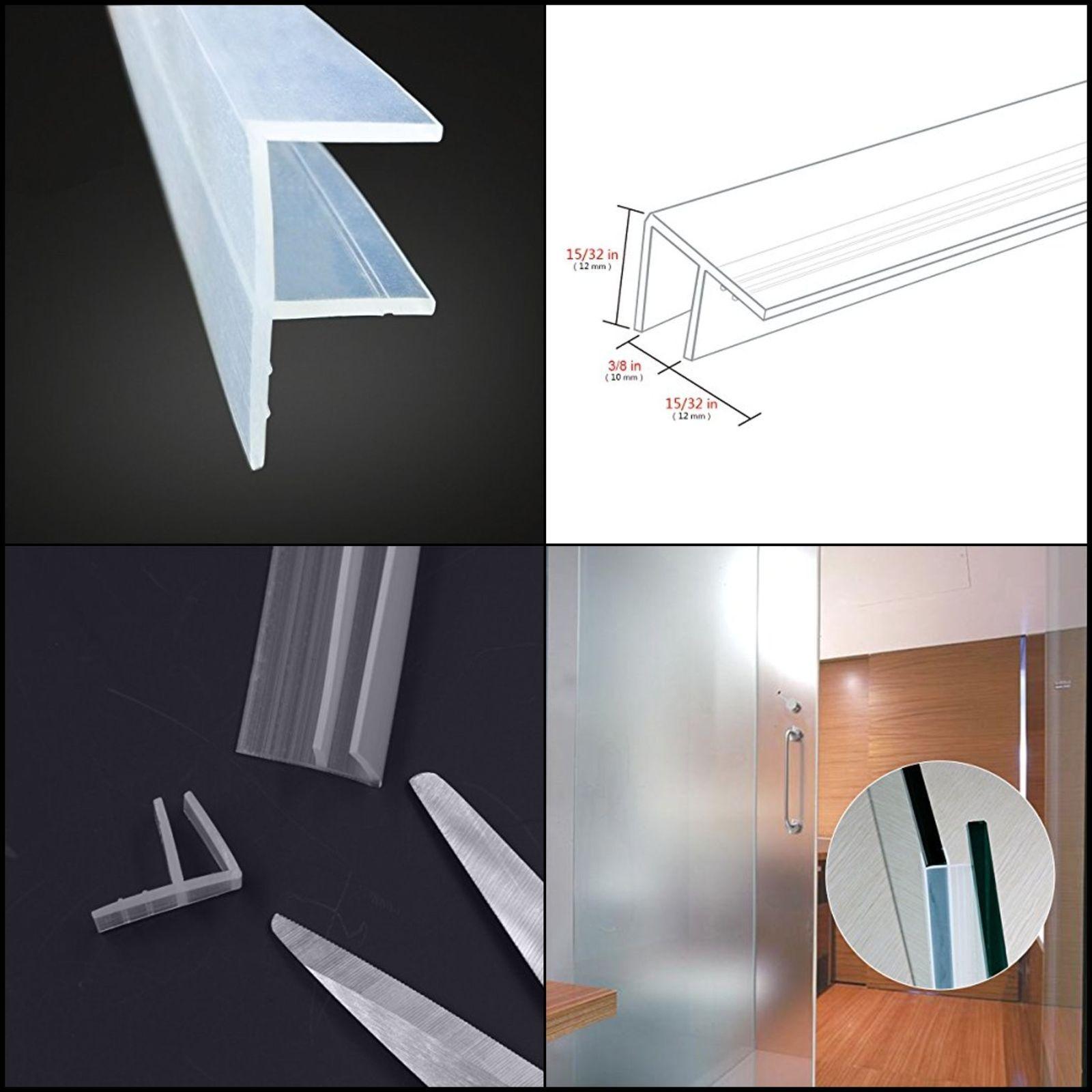 8 58 Frameless Glass Shower Door Sweep Bottom Seal Weatherproof