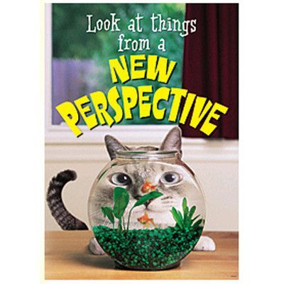Trend Enterprises Look At Things From A New Poster (Set of 3)