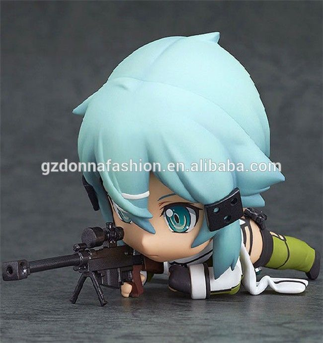 Wholesale Q Version Clay Sword Art Online Ghost Bullet Asada shino Action Figure, View Sword Art Online, donnatoyfirm Product Details from Guangzhou Donna Fashion Accessory Co., Ltd. on Alibaba.com