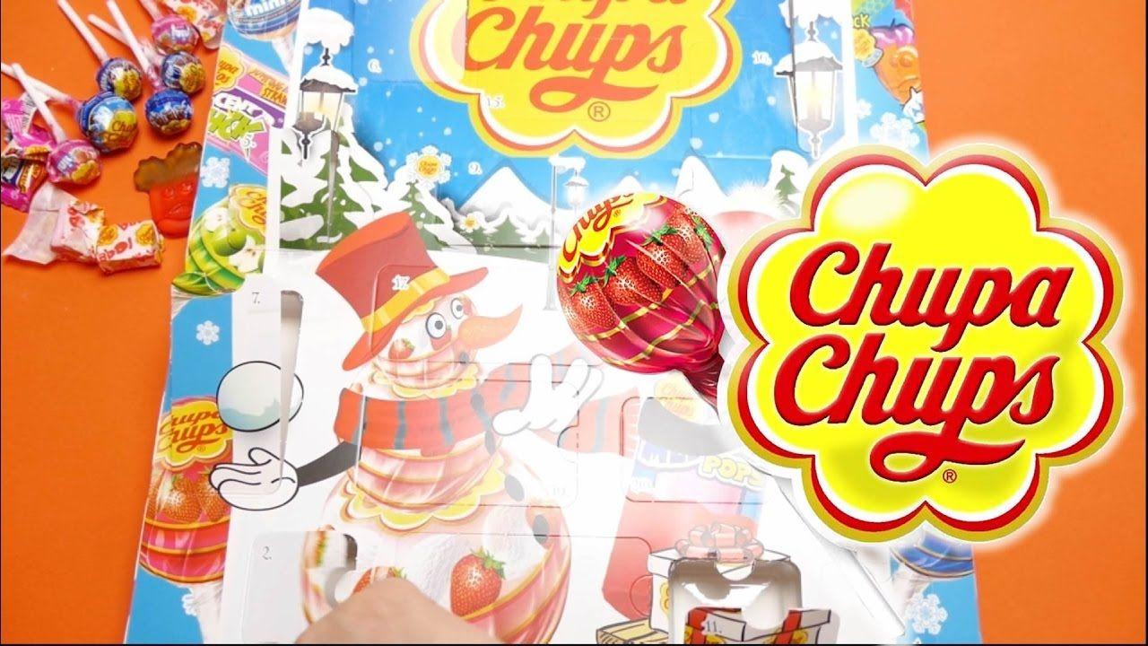 Chupa Chups Advent Calendar Unboxing Thomas And Friends Trains