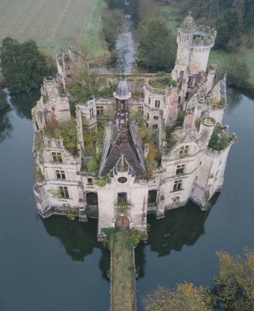 A 13th Century French Château, Abandoned Since The 1930s