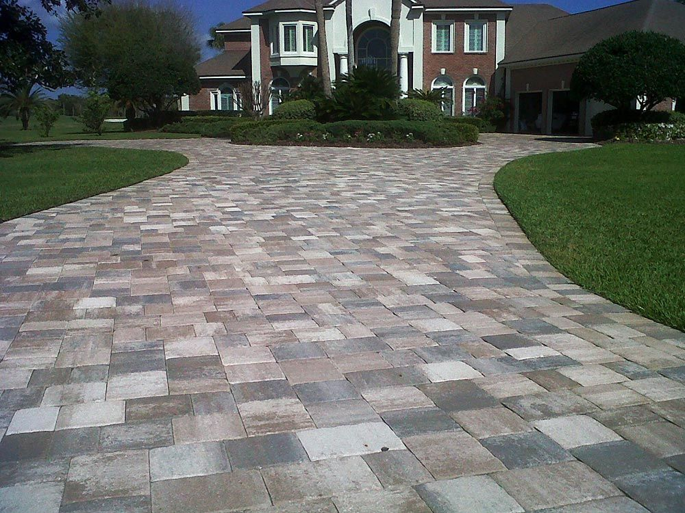 Time To Make That Entry With Mega Olde Towne Sierra Pavers