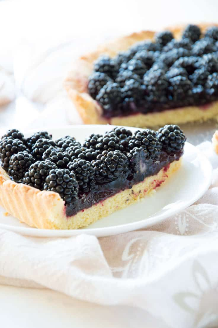 Photo of Blackberry Crostata – Delicious Shortcrust Summer Pie