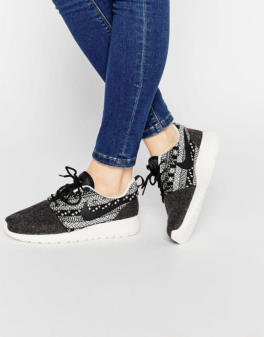 sneakers nike roshe one mit printers