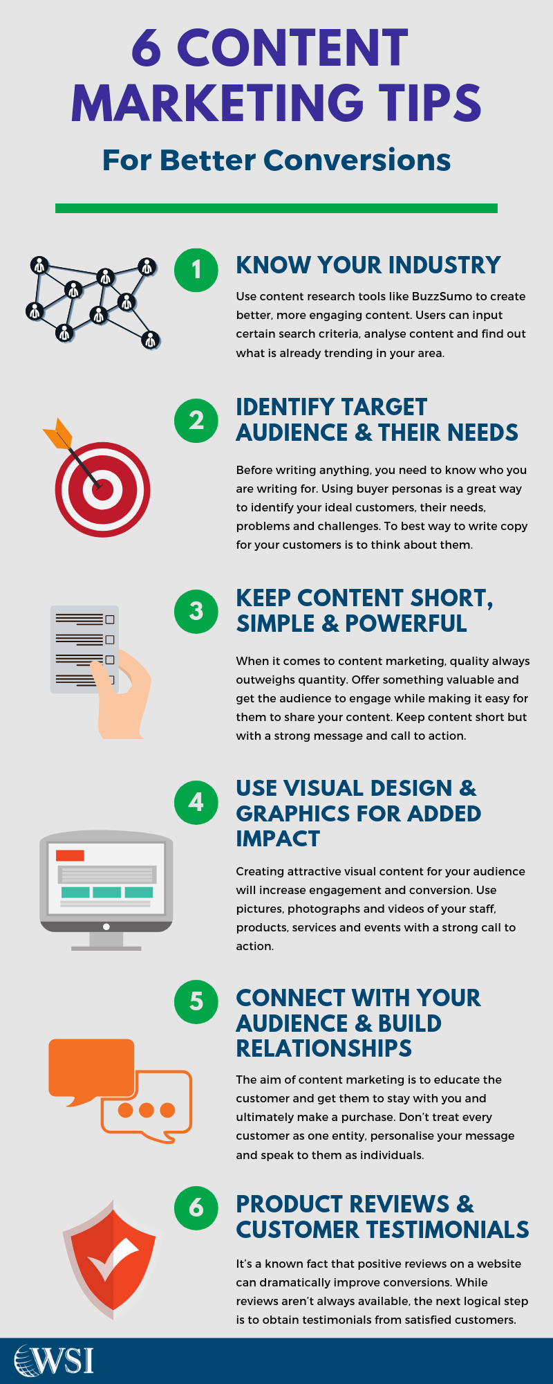 6 Tips To Increase Conversions #infographicmarketing