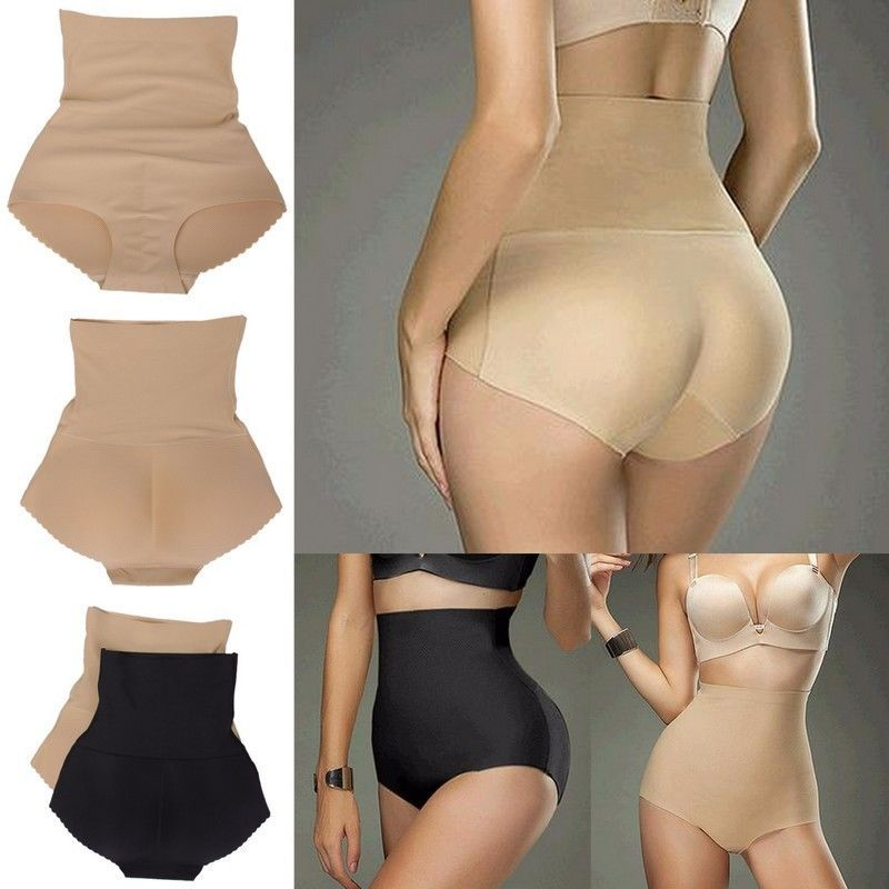724fe5463a82b Women s High Waist Tummy Padded Butt Lift Underwear Panties Brief Body  Shaper  Unbranded  Briefs