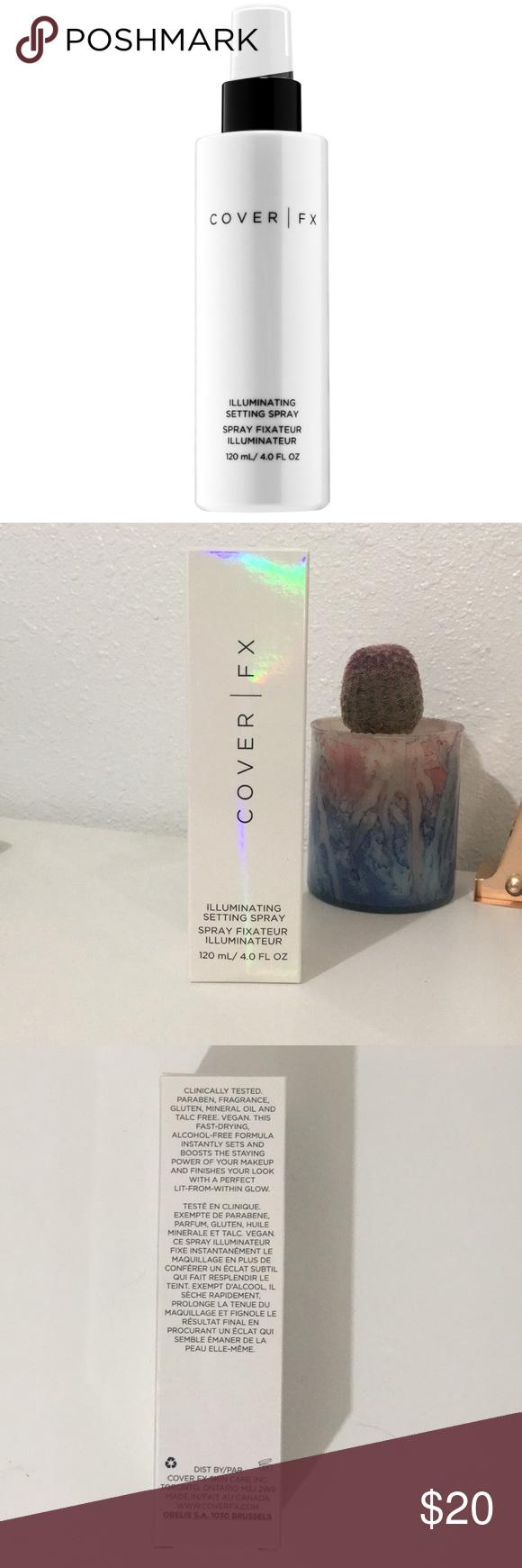 Cover FX illuminating setting spray BRAND NEW!!! Box has
