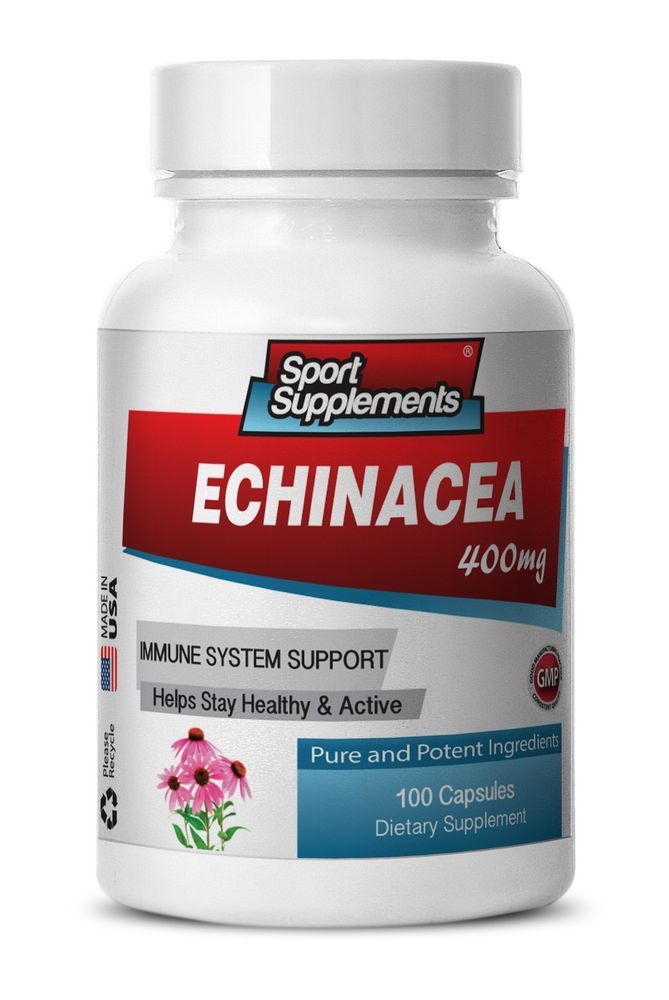 Immune System Herbs Capsules - Echinacea Poeder 400mg - Inulin Powder 1B #SportSupplements