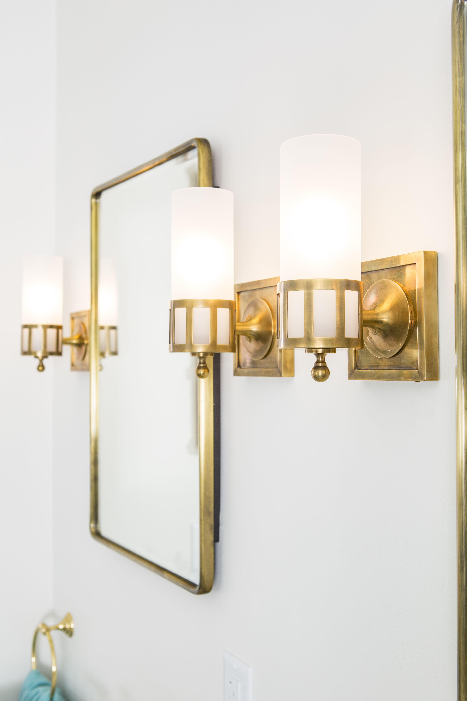 Blake Bell Shade Polished Brass Finish Solid Brass Bathroom Wall Light Bath Blake2 Pb In 2021 Bathroom Wall Lights Wall Lights Polished Brass Wall Light