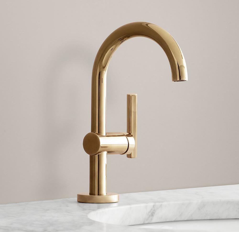 Spritz Single Hole Faucet Single Hole Faucet Bathroom Faucets Single Hole Bathroom Faucet [ 974 x 1000 Pixel ]