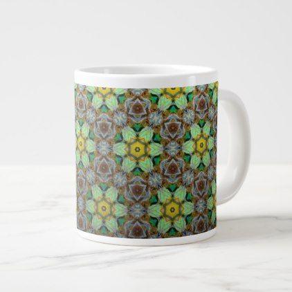 BullmasterGardian Flower Power Large Coffee Mug cyo customize