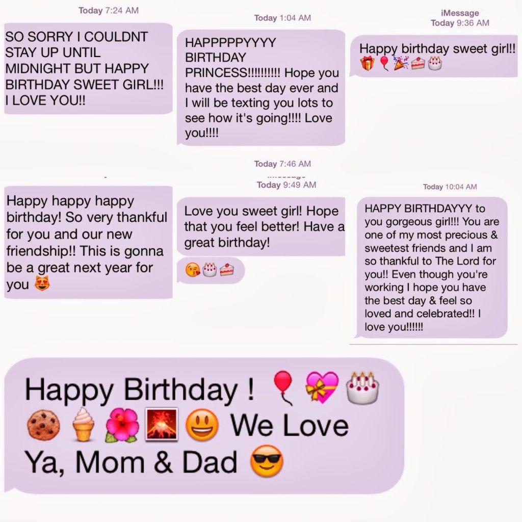 Happy Birthday Text Message Happy birthday text message