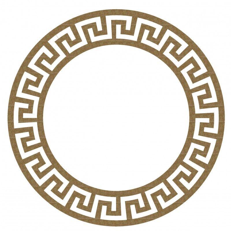 Greek Frame 2 Versace Frame Stencil Painting Jaali