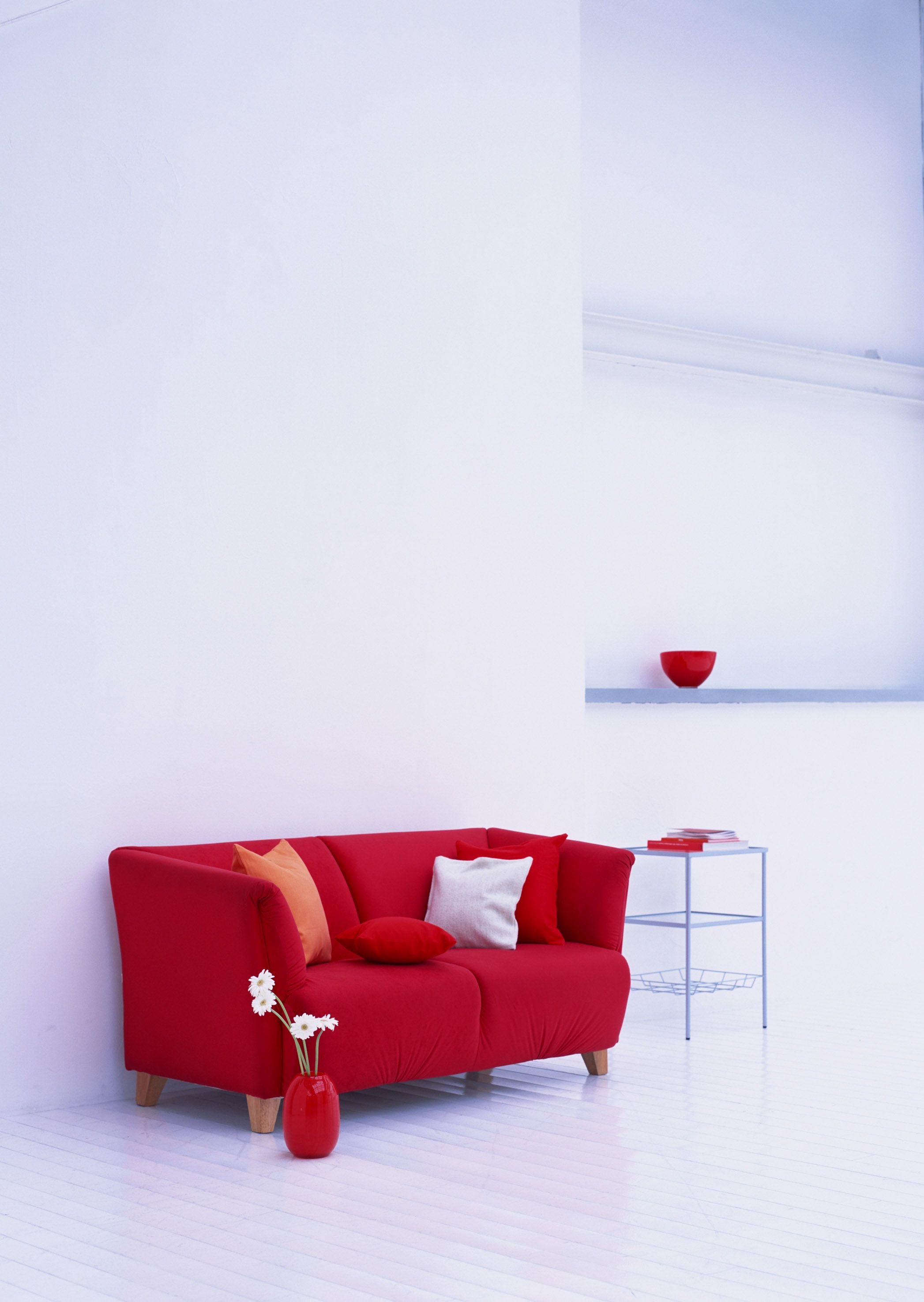 I have always wanted a red couch for the home pinterest