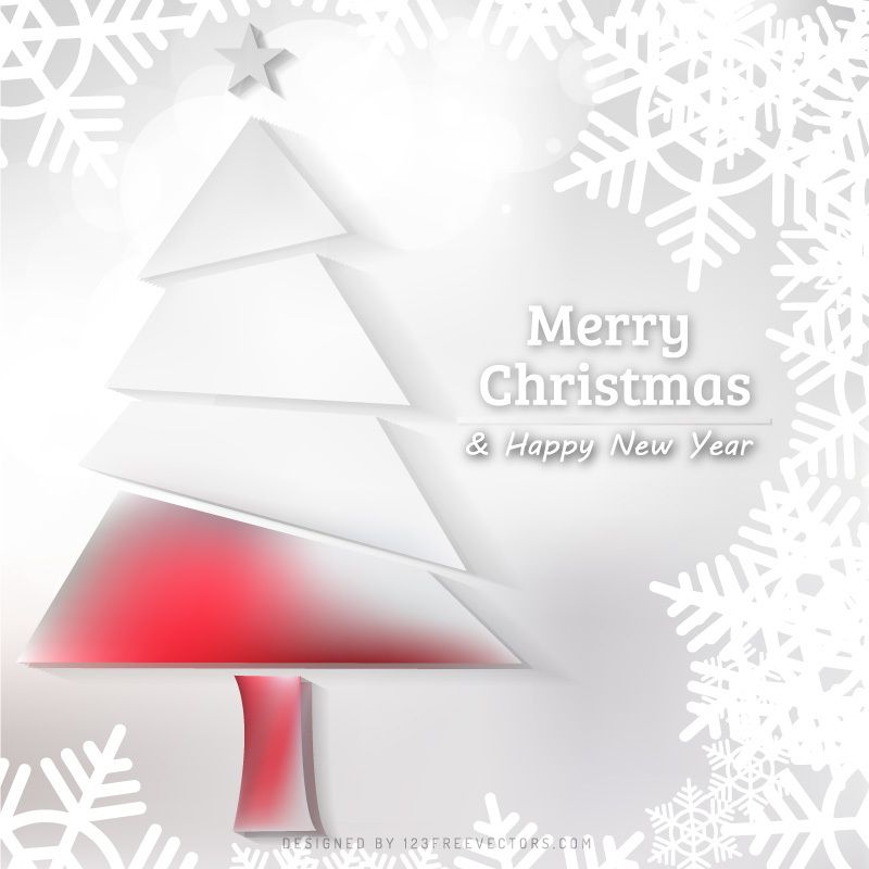 White Christmas Tree With Snowflakes Background Snowflake Background Free Christmas Backgrounds Christmas Tree Background