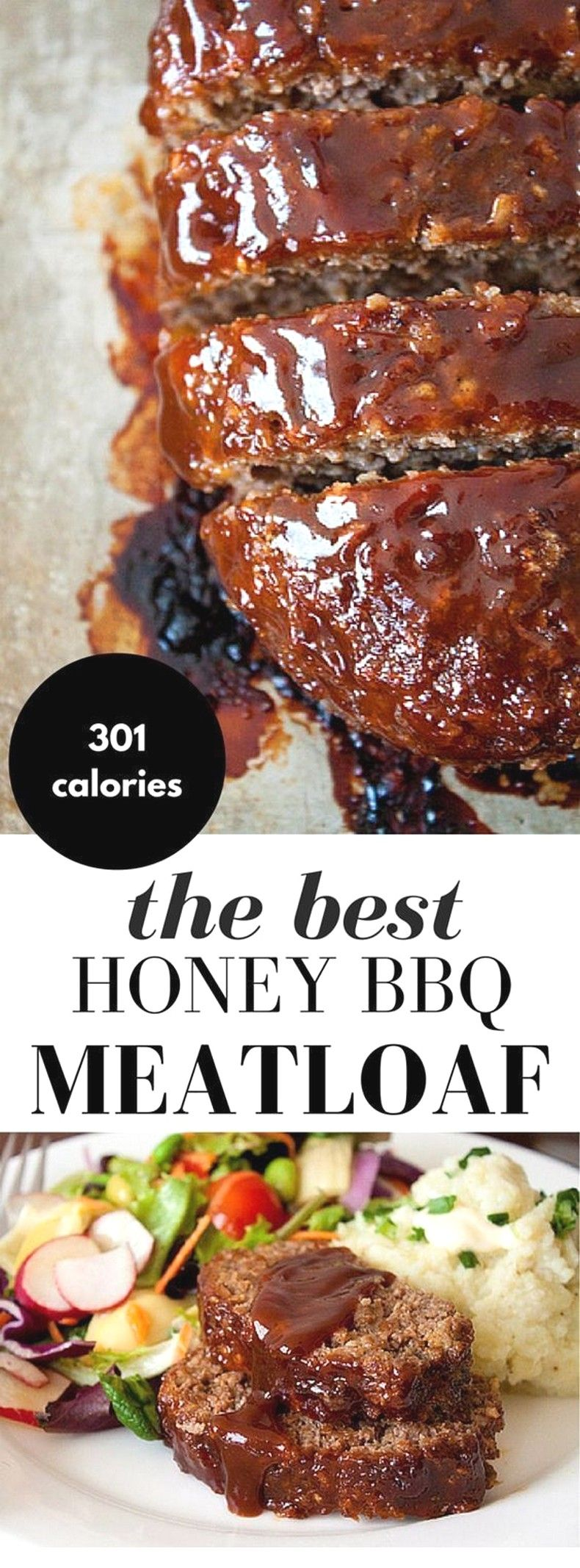 Beef Recipes Ideas | Honey Barbecue Meatloaf Recipe images
