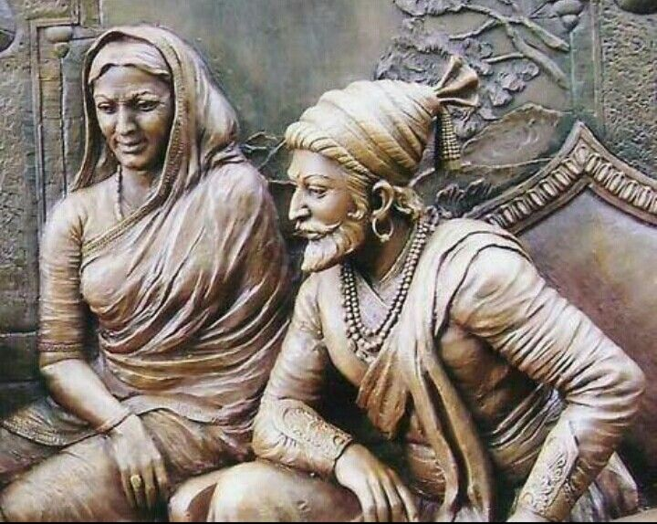 Image result for shivaji with his mother