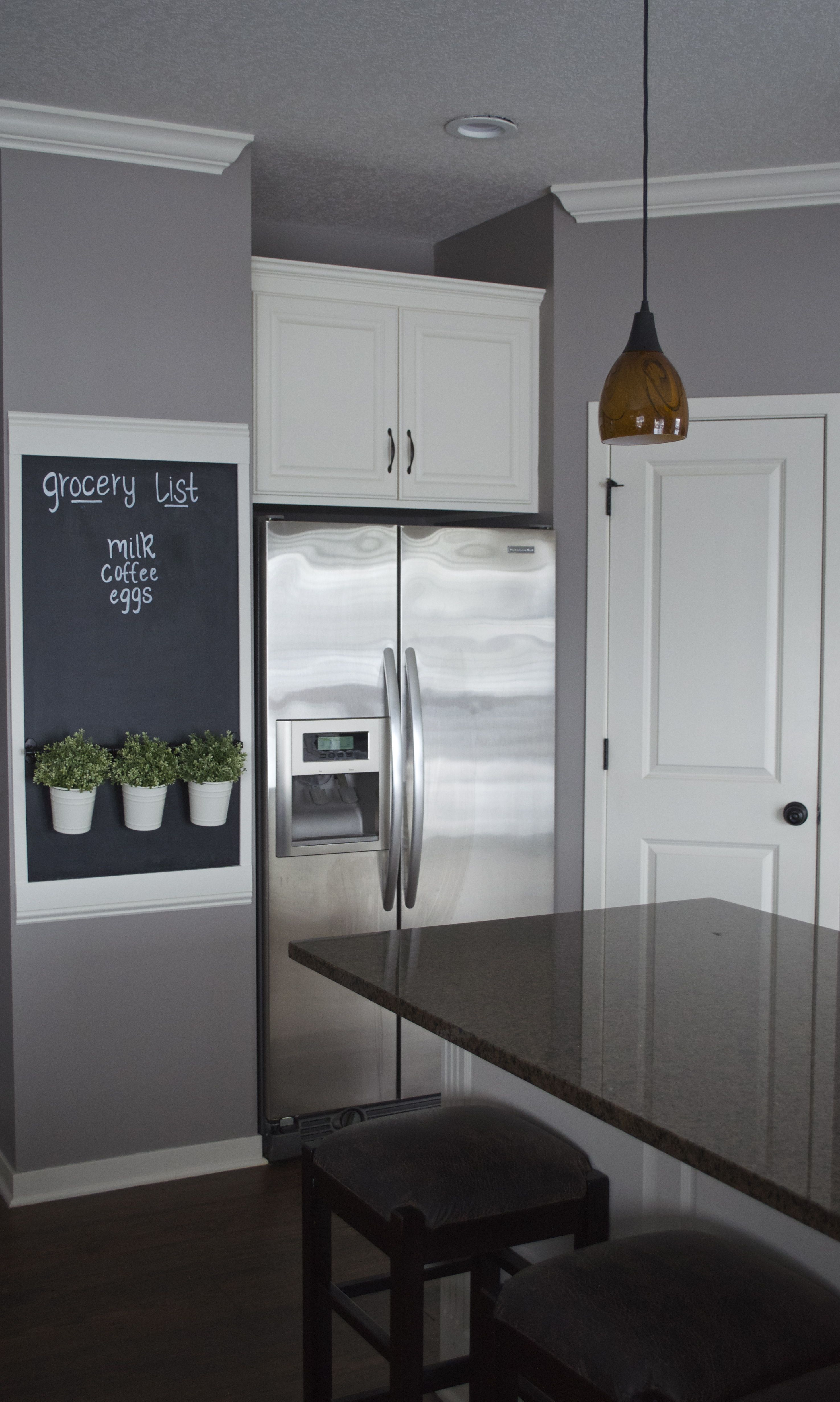 Kitchen Chalkboard Wall Chalkboard Wall Kitchen Kitchen Chalkboard Diy Home Decor Projects