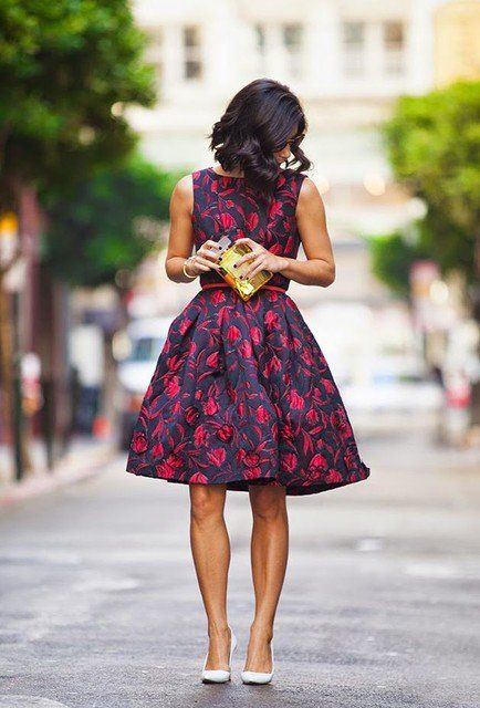 17 Chick Floral Dresses That Will Make You Say WoW! | Pinkous
