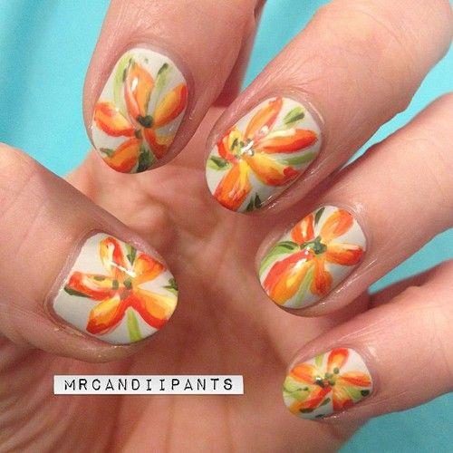 Daily nail art tiger lily blog flauntme nail polish daily nail art tiger lily blog flauntme prinsesfo Gallery