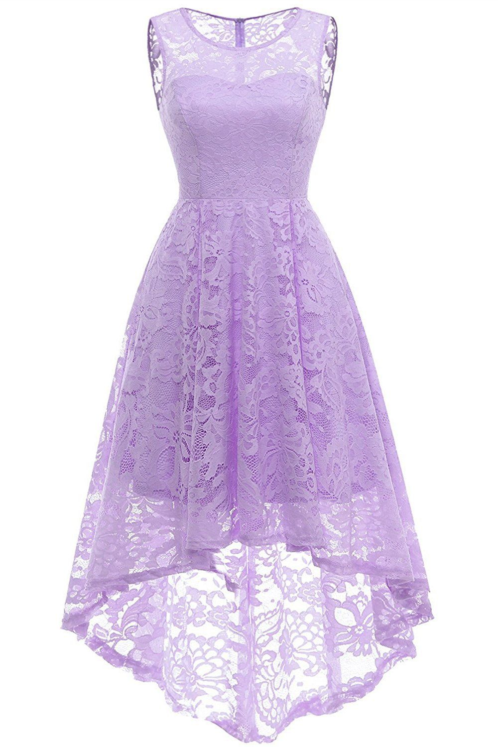 UK Stock New Arrival Mini Bead Purple Prom Party Cocktail Gown Bridesmaid Dress