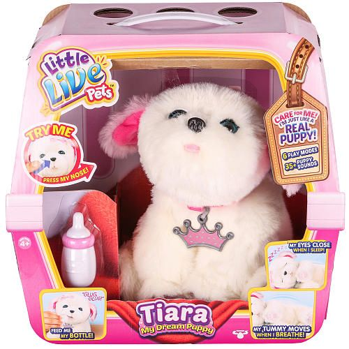 Video Review For Little Live Pets My Dream Puppy Playset Tiara Little Live Pets Pet Toys Toys