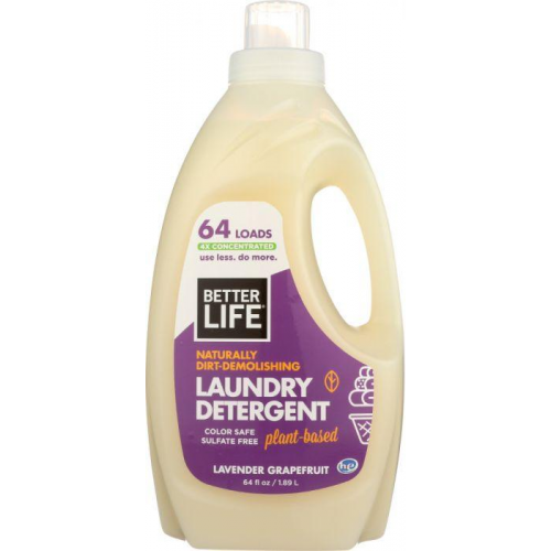 Detergent Laundry Lavender Grapefruit 64 Oz Biodegradable