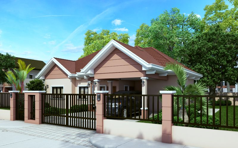 Small House Plans Series, PHP 2015015   Pinoy House Plans