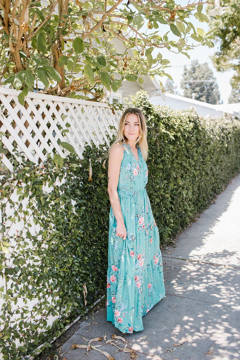 20074d6f9dc Women s LC Lauren Conrad Print Halter Maxi Dress in 2019
