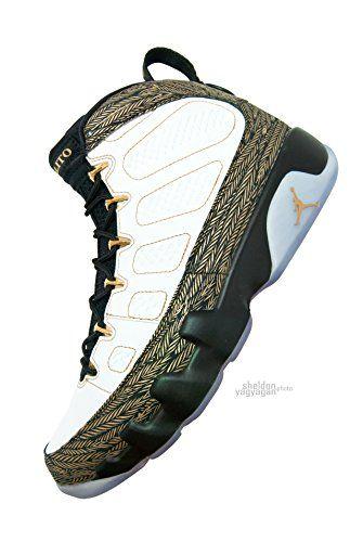 "Air Jordan 9 Retro DB ""Doernbecher"" White/Gold/Black 580892-170 US Size 11 - http://airjordankicksretro.com/air-jordan-9-retro-db-doernbecher-whitegoldblack-580892-170-us-size-11/"