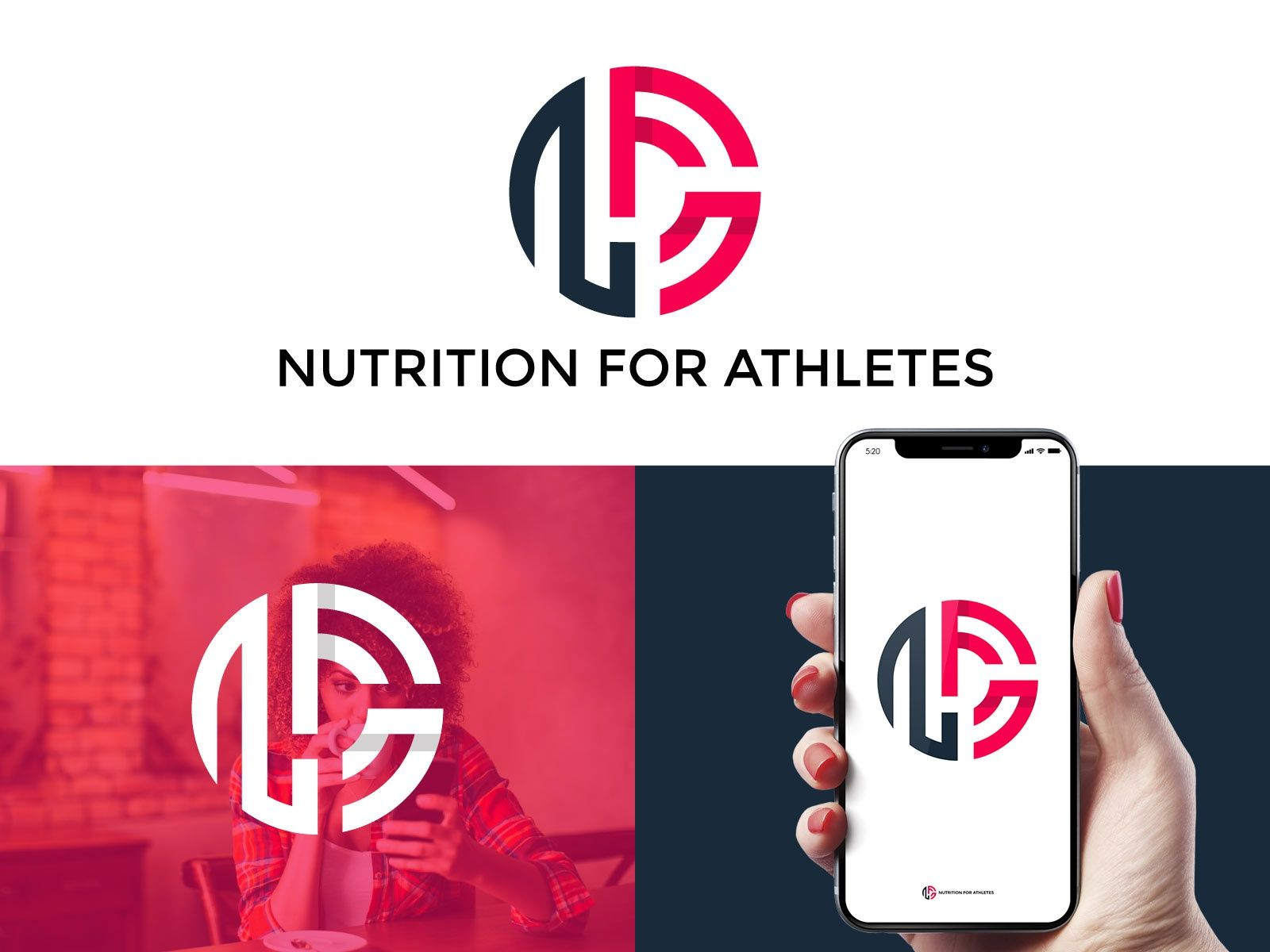 N F A Nutrition For Athletes logos by Jony Parvez #athletenutrition