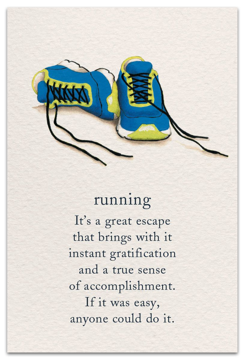 Running Birthday Card Cardthartic Com Pretty Words Meaning Of Life Inspirational Quotes