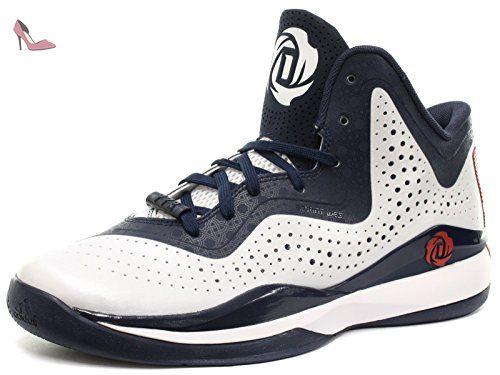 adidas Derrick Rose 773 III Enfant Basketball Baskets / Sneakers, blanc, 36  - Chaussures