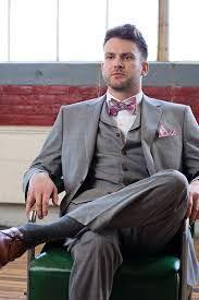grey suit purple bow tie - Google Search