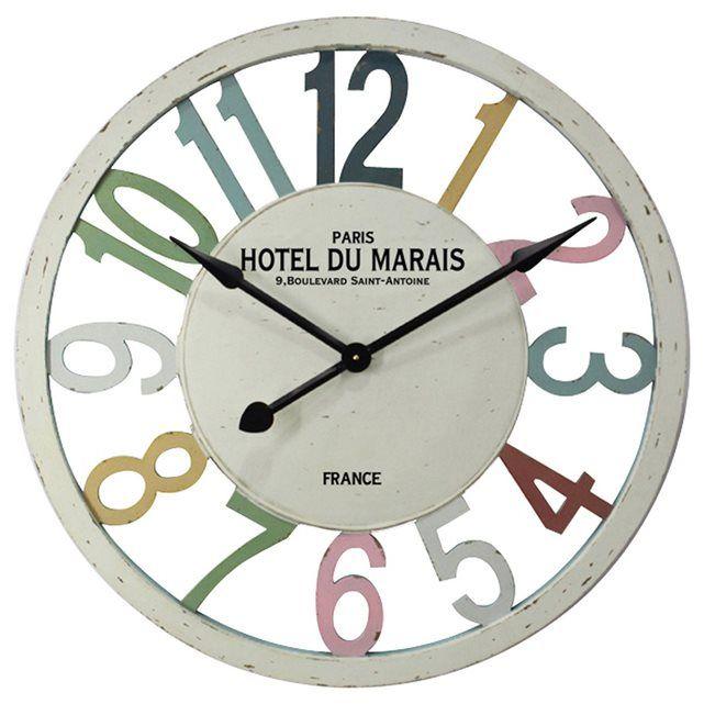 horloge murale design hotel marais atylia d co essayer. Black Bedroom Furniture Sets. Home Design Ideas