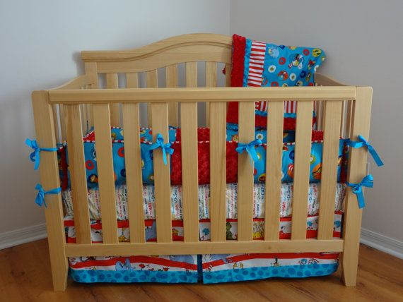 Everything Designish Baby Boy S Nursery: Dr Suess Baby Bedding