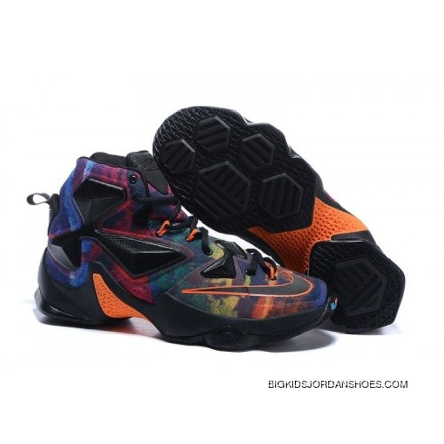 a2744ddcab3 Nike LeBron 13 Kids Shoes The Akronite Philosophy Basketball Shoes ...