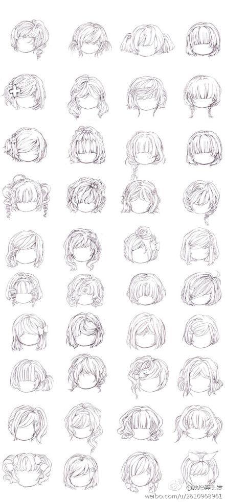 Girl Hair Styles Art Doodles Paint Drawings How To Draw Hair Art Drawings