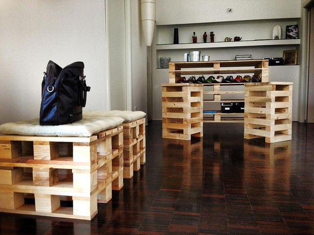 pallet seats, pallet shelf