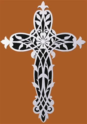 Mirrored Cross Plan Cutting Dies And Stencil's 60 Woodworking New Scroll Saw Cross Patterns